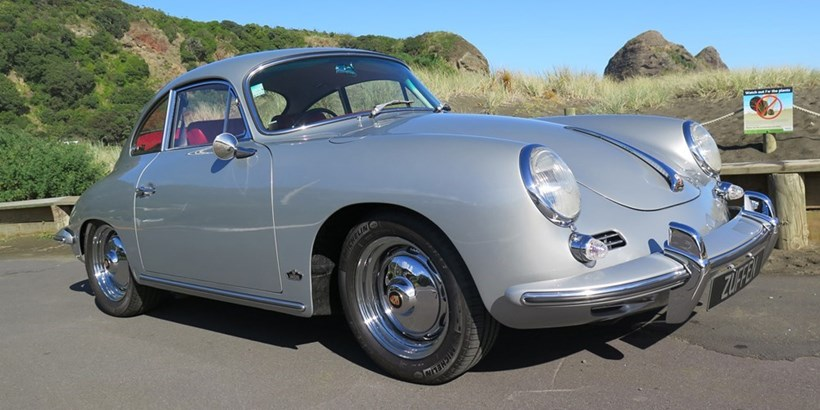 Angus Cooper has restored a  1963 Porsche 356. Supplied Picture: Jacqui Madelin NZH 24May14 - This is owner Angus Cooper s second classic Porsche 356. He s retained as many of the original specs as possible.Angus Cooper bought the 1963 Porsche 356 as an early 50th birthday present.   Supplied Picture: Jacqui Madelin  NZH 24May14 - The owner of  the Porsche 356, Angus Cooper, says other people have boats,  well, this is my boat .   Pictures / Jacqui MadelinThis model comes along only rarely.