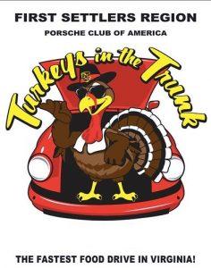 Turkey's in the Trunk @ Checkered Flag Porsche