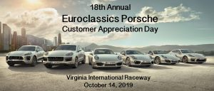 Euroclassics Customer Appreciation Day @ Virginia International Raceway